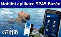 Mobilní aplikace SPA5 Bazén