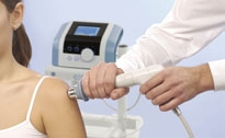 Aesthetic shock wave therapy